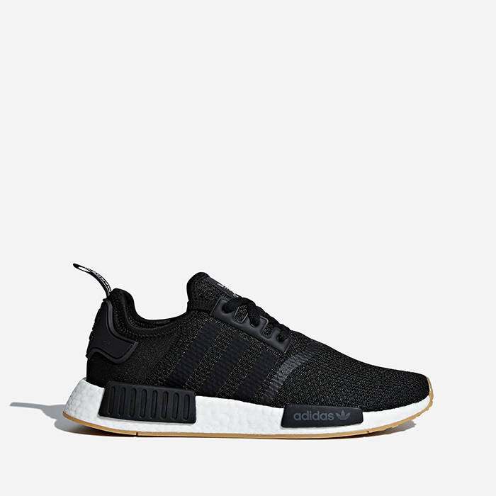 Adidas NMD R1 boost 2018 clover black and white men's