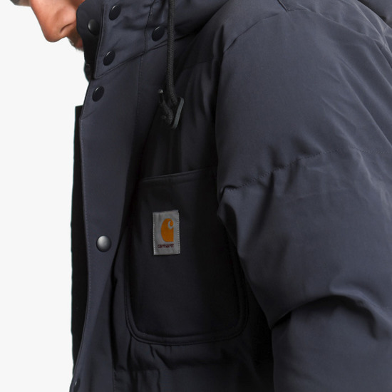 Carhartt Alpine Coat I023081 DARK NAVY/HAMILTON BROWN