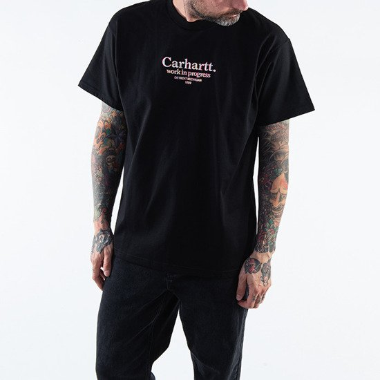 Carhartt WIP Commission T-shirt I028458 BLACK