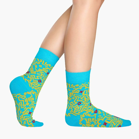 Happy Socks x Keith Harning  KEH01 6700