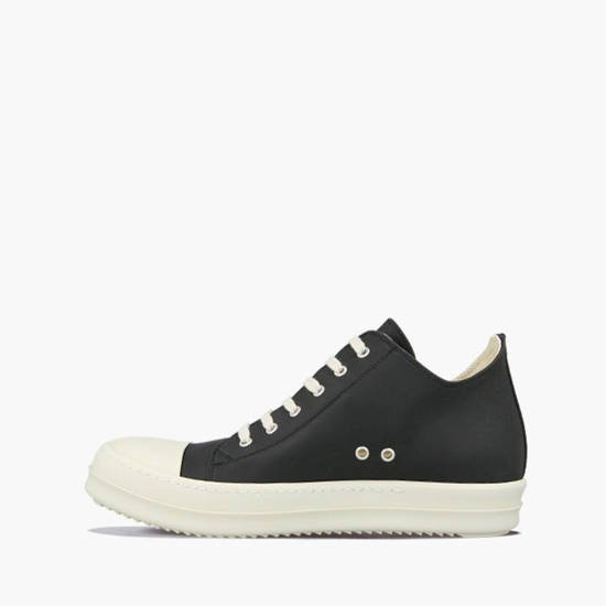 Rick Owens DRKSHDW Low Sneaks DU20F1802 RUHP BLACK/WHITE