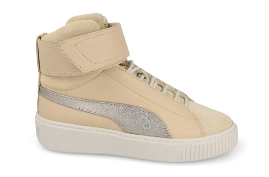 Women's Shoes sneakers Puma Basket Platform Mid Up 364952 01