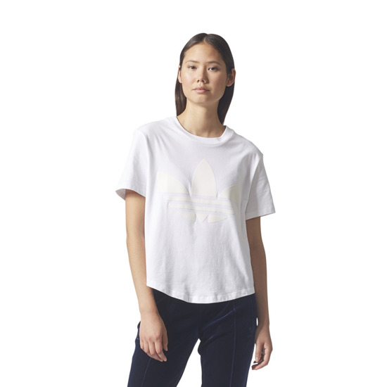 Women's T-shirt adidas Originals Flock BQ7990