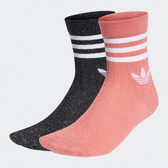 adidas Originals Mid Cut Glitter Crew Sock GD3455
