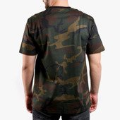 Carhartt College Script T-Shirt I024806 CAMO EVERGREEN/WHITE