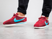 Men's Shoes sneakers Nike Classic Cortez Nylon Premium 876873 600