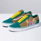 Vans x The Simpsons Ua Old Skool VN0A4BV521L